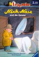 ドイツ語児童文学書 Marjorie Weinman Sharmat & Detlef Kersten / Nick Nase und die Geister『ぼくはめいたんてい ハロウィンにきえたねこ』 -2