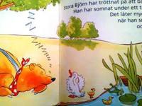 スウェーデン語絵本 Dugald Steer & John Blackman / Stora Bjorn och Musen som forsvann