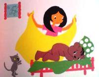 日本語版絵本 マレーク・ベロニカ 『びょうきのブルンミ』
