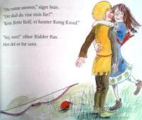 デンマーク語絵本 Henriette Langkjaer og Hans Ole Herbst & Katrine Clante / Ridder Ras og det farlige vandfald