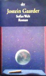 児童文学書『ソフィーの世界 哲学者からの不思議な手紙』のドイツ語版 Jostein Gaarder / Sofies Welt