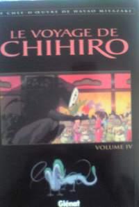 仏語アニメコミック Hayao Miyazaki / Le voyage de Chihiro『千と千尋の神隠し』第4巻