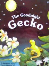 ハワイの英語絵本 Gill McBarnet  / The Goodnight Gecko