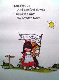イギリスの英語絵本 Joan Walsh Anglund / A child's book of Old Nursery Rhymes