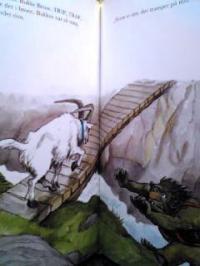 デンマーク語絵本 Asbjornsen og Moe ,  Svend Otto S. / De tre Bukke Bruse