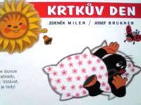 チェコ語絵本 Josef Brukner , Zdenek Miler / Krtkuv den