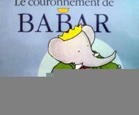 フランス語絵本 Laurent de Brunhoff / Le couronnement de Babar