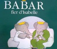フランス語絵本 Laurent de Brunhoff / Babar fier d' Isabelle