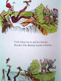 ドイツ語絵本 Wilhelm Busch / Max und Moritz : Eine Bubengeschichte in sieben Streichen『マックスとモーリッツ - 七つのいたずらの話』