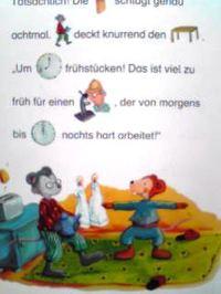 ドイツ語絵本 Insa Bauer, Dagmar Henze / Wie spaet ist es, Maxi Maus?