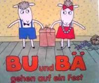 ドイツ語絵本  Olof Landstrom, Lena Landstrom / Bu und Ba gehen auf ein Fest