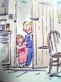 イギリスの英語絵本 Paul Dowling, Penny Dowling / Two Kids Make Breakfast