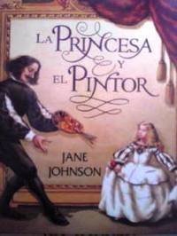 スペイン語の美術絵本 Jane Johnson / la princesa y el pintor -2