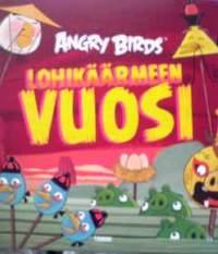 フィンランド語絵本 Angry Birds ; Lohikaarmeen VUOSI「アングリーバード」