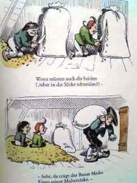ドイツ語絵本 Wilhelm Busch / Max und Moritz : Eine Bubengeschichte in sieben Streichen『マックスとモーリッツ - 七つのいたずらの話』 -s
