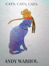 英語の美術絵本 Andy Warhol / CATS, CATS, CATS -as