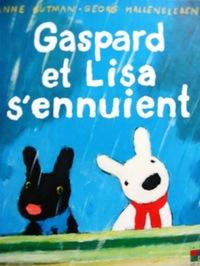 フランス語絵本 Anne Gutman & Georg Hallensleben / Gaspard et Lisa s'ennuient 13 『リサとガスパールのたいくつないちにち』 -2