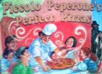 ニュージーランドの英語絵本 Jane Cornish & Jo Davies / Piccolo Peperone's Perfect Pizzas
