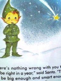 イギリスの英語絵本 Santa's Runaway Elf -1