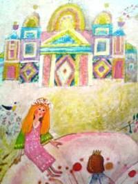 スイスの英語絵本 Hans Christian Andersen & Josef Palecek / Thumbelina『おやゆびひめ』 [翻訳=18] 2/2