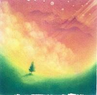 ポストカード1枚150円(パステルアート「夢の向こうへ…」)