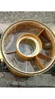 石膏トラップ洗浄前
