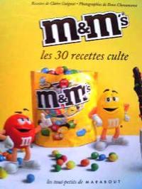 レシピ本 M&M'S les 30 recettes culte