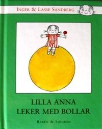 通信講座 [絵本で学ぶ スウェーデン語講座 入門] 受講料(5クール分) Inger & Lasse Sandberg / Lilla Anna leker med bollar