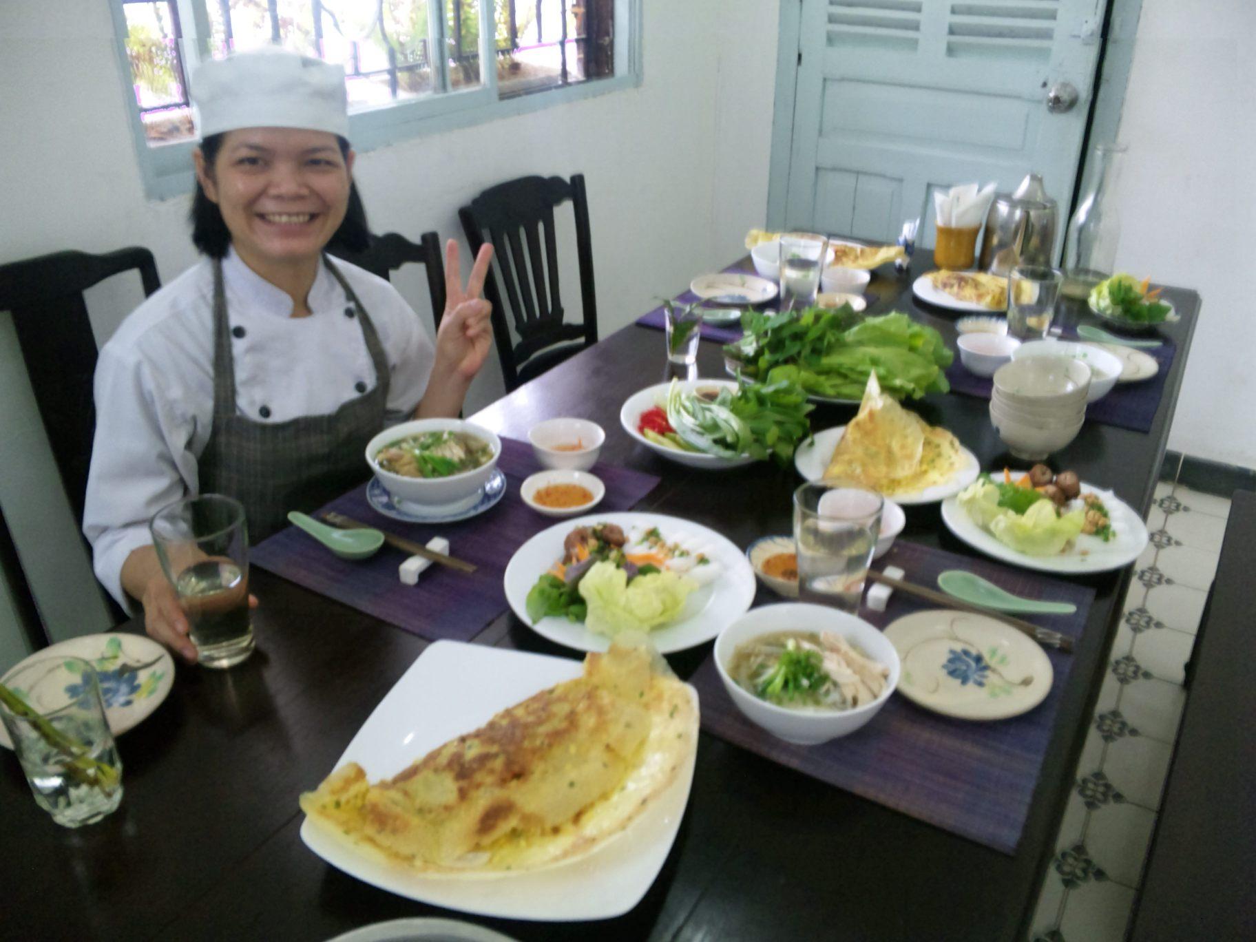 ホーチミンでベトナム料理教室画像