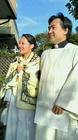 副牧師の柴田さんと、パートナーとなるTさん、ツーショット