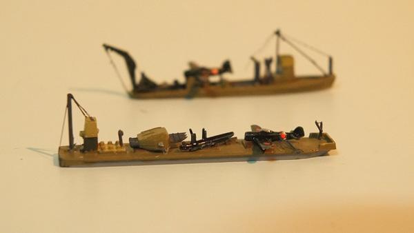 飛行機運搬船・救難船