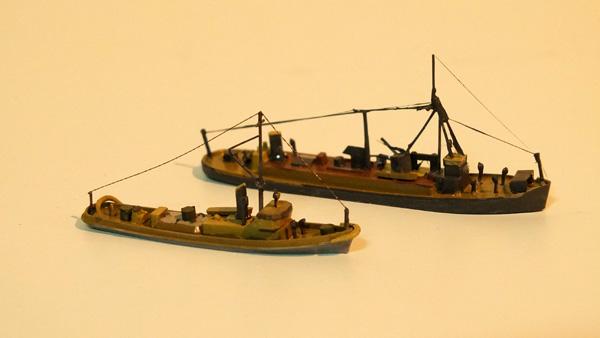 重油運搬船・曳船
